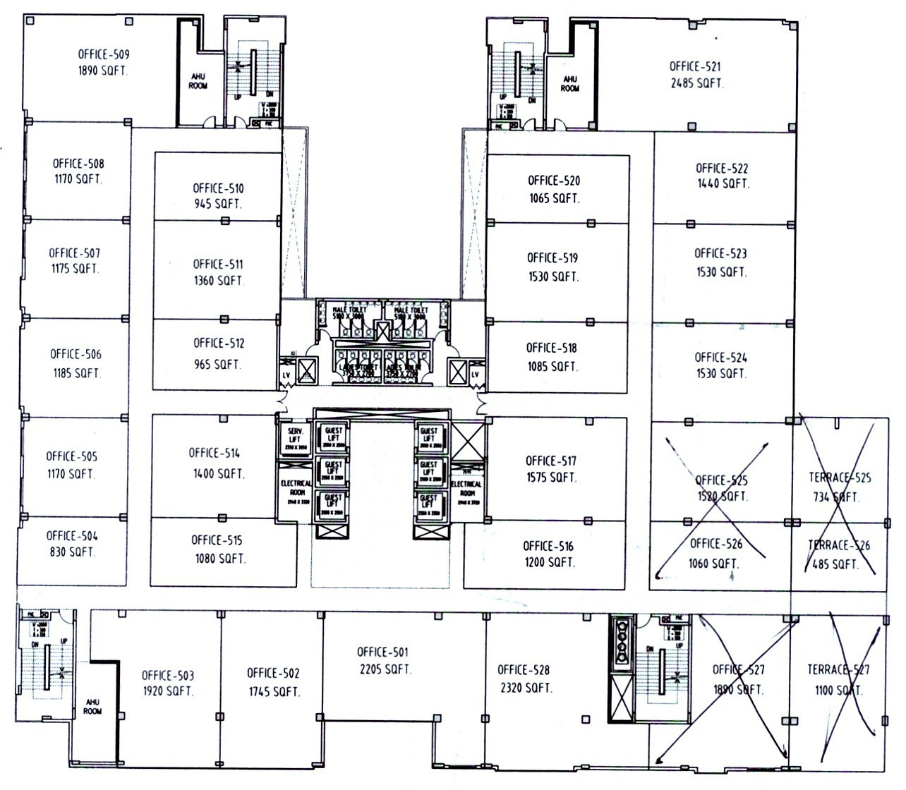 floor plan of bestech