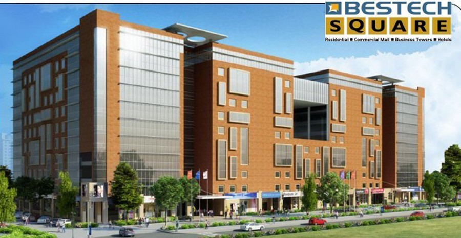 3d view bestech square sector 66 mohali