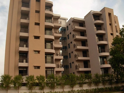outer view of bollywood heights peer mushalla zirakpur