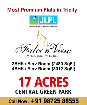 jlpl falcon view mohali flats in mohali adjoining chandigarh
