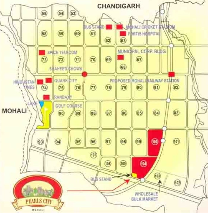 plots in mohali sector 100