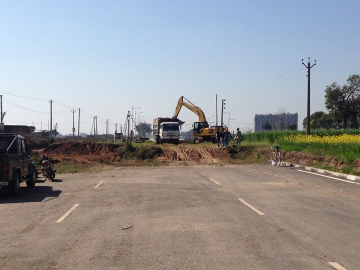 chandigarh mohali airport road connectivity development picture