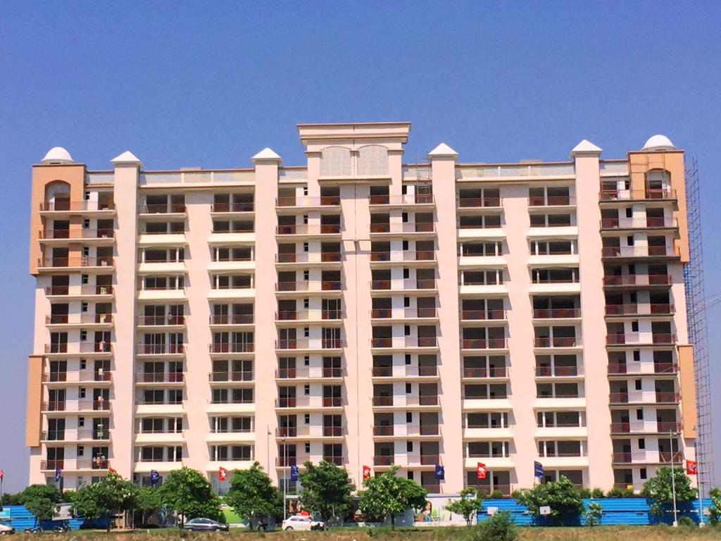 taj towers mohali latest construction picture property near international airport chandigarh