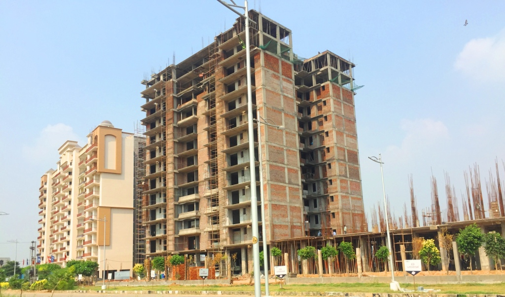 taj towers mohali latest construction status picture near mohali international airport