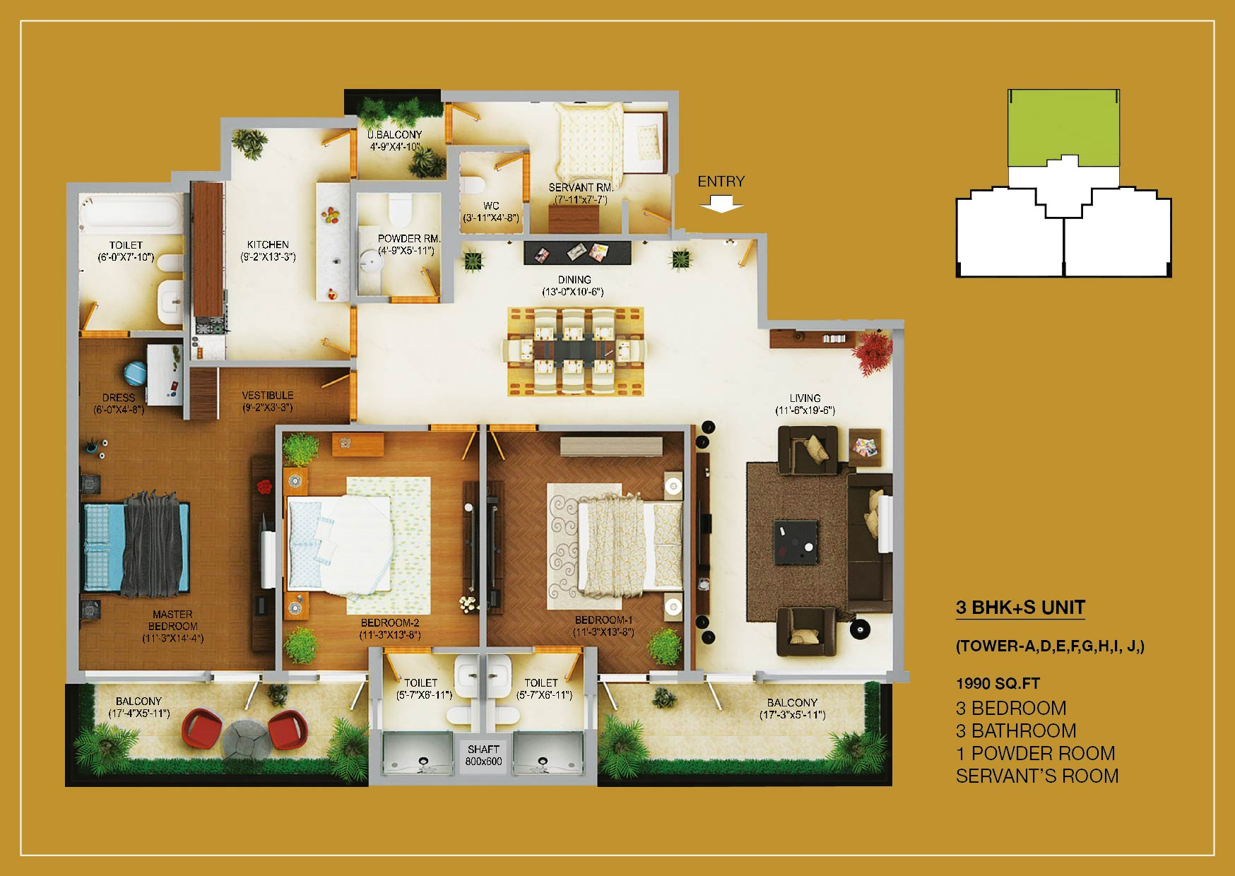 Wave Estate Mohali Plot Villas Flats Wave Floors
